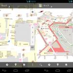 駅構内、空港、デパートなどに対応したインドアGoogleマップ対応