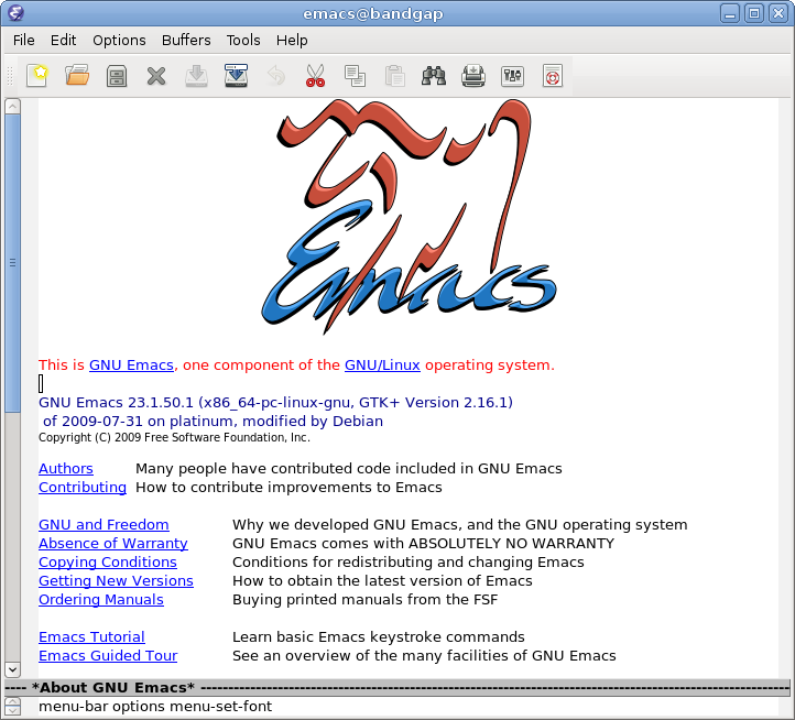 GNU Emacs 24.1」リリース | ソ...