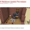 「Minecraft 1.5」リリース