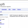 Googleより新しい圧縮アルゴリズム「Zopfli」が登場