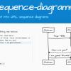テキストからでシーケンス図を作るサービス「js-sequence-diagrams」