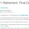 Twitter API v1の終了日が「2013年5月7日」に正式決定