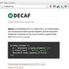 JavaScriptのかわりにRubyが埋め込まれたブラウザ「Decaf」