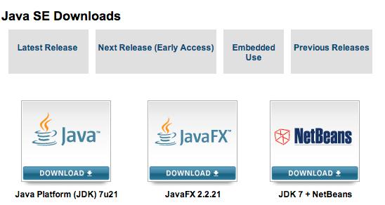 Java SE Downloads