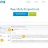 SparrowライクなWindows用メールクライアント「Mailbird」
