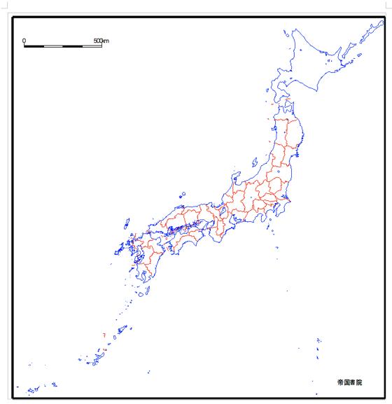 日本地図もdoc形式で。都道府県 ...