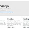 フリップエフェクトライブラリ「Flippant.js」