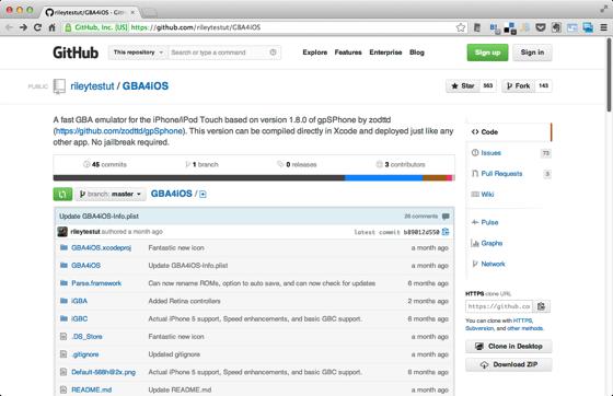Rileytestut GBA4iOS  GitHub