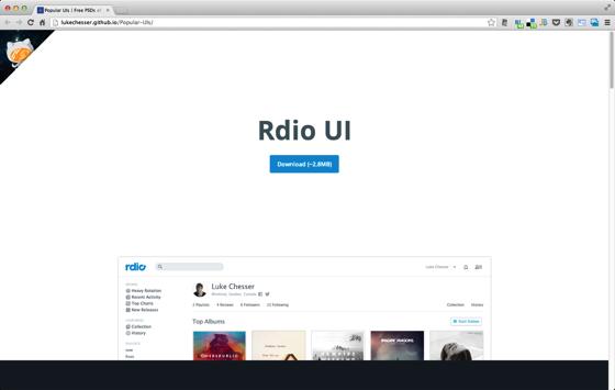 Popular UIs
