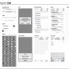 Illustrator用「iOS 7 Wireframing Kit」