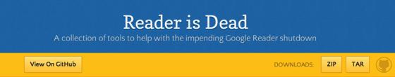 Reader is dead