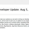 【朗報】Apple Developer Centerの大部分の機能は今週中に回復する見通し