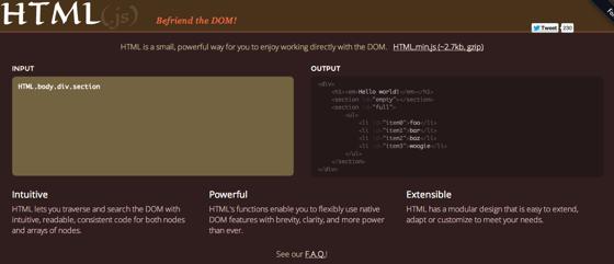 HTML js