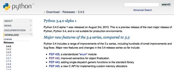Python 3 4 0 Alpha 1 Release