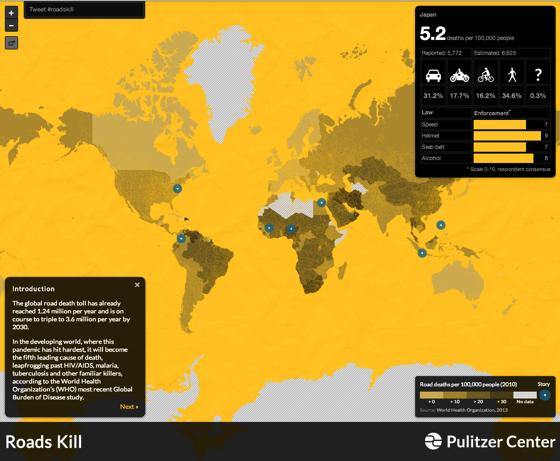 Roads Kill Map