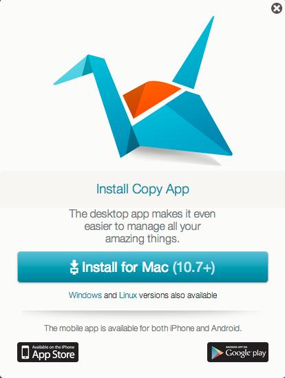 Copy client