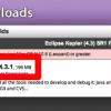 「Eclipse 4.3 SR1(4.3.1)」リリース