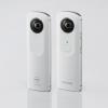 リコー、1回の撮影で360度撮影可能なデバイス「RICOH THETA」発売