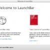 Mac用アプリランチャー「LaunchBar 5.6」公開