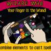 参考になるかも?オープンソースのiOS用ゲーム「Wizard War」