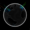 GitHubユーザーが地球上のどこ住んでいるか確認できる「Github Globe」