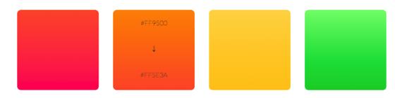 IOS 7 colors 1