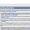 Mavericksに対応した「MacPorts 2.2.1」リリース