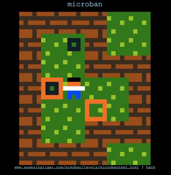 Microban  PuzzleScript Game