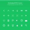 「Snap.svg」を利用したアニメーションSVGアイコン「Animated SVG Icons」