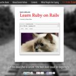 初学者向けのRails本「Learn Ruby on Rails」、期間限定で無料ダウンロード可能