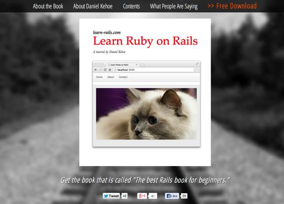 Learn Ruby on Rails