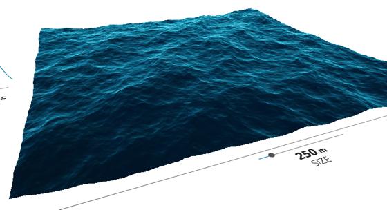 Ocean Wave Simulation 1