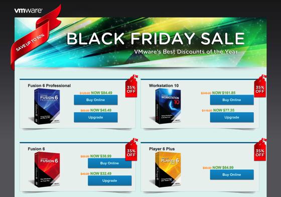 VMware Cyber Week Sale