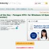 【至急】「Paragon HFS+ for Windows 10 Special Edition (English Version)」あと7時間ほど無料