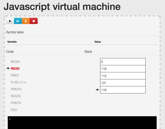 Js  Virtual Machine