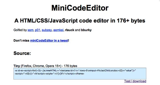 Xem github io miniCodeEditor 2