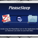 スリープしないMacをスリープさせる「PleaseSleep」