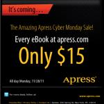 Apress.comのeBookが全部15ドルで購入可能