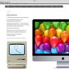 Mac誕生30周年記念サイト「Thirty Years of Mac」(おまけつき)