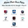 平均額以上でSnagitが入手できる「Name Your Own Price Mac Bundle 4.0」