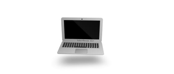 CSS only 3d Macbook Air  CodePen