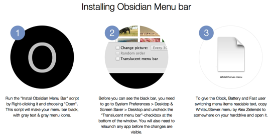 Obsidian Menu Bar 1
