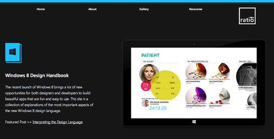 Windows 8 Design Handbook