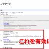「Chrome  23.0.1271.95」でFlashが固まる対策その2