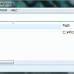 高速ファイル検索ソフト「Everything search engine」