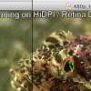 Retinaディスプレイに対応した「VLC 2.0.2」