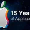 Appleホームページの歴史をまとめたスライド「15 years of Apple's homepage」
