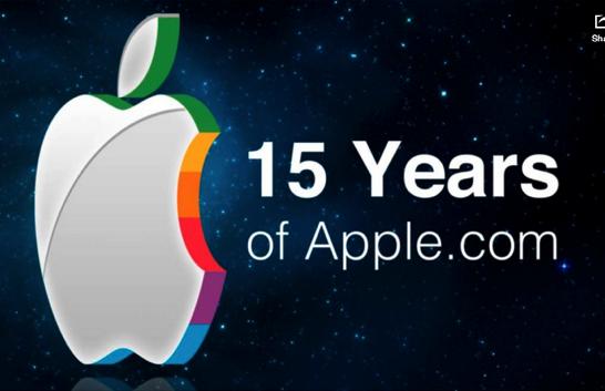 15 years of Apple s homepage