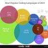 CodeEvalによる「プログラミング言語人気ランキング2013」発表。1位はあの言語