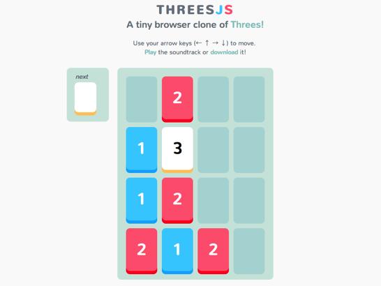 Threes JS 1